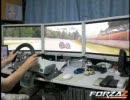 Forza2 3画面で走ってみた へたれ編