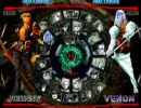 GGXX SLASH 壁際のDC(ジョニー) vs ななし(ヴェノム)
