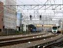 【定点観測】西武新宿線の8時台【10倍速】