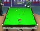スヌーカー Ronnie O'Sullivan vs Peter Ebdon 3/7 (Fr 4)