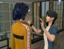 Sims2でテニプリ★氷帝&立海で合同合宿1日目~立海Side~