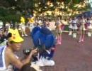 2007.8.5 横浜YYパーク でドアラが「野球場へ行こう」を踊る