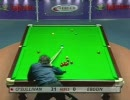 スヌーカー Ronnie O'Sullivan vs Peter Ebdon 6/7 (Fr 7)