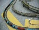 長い貨物列車(模型)