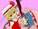 【MMD】おぜう様と妹にキラメキラリを躍らせてみたかった thumbnail