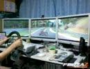 Forza2 3画面で走ってみた ニュルブルクリンク編 画質改善版
