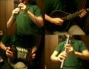 東方非想天則「悠久の蒸気機関」をアイリッシュ楽器等で演奏してみた。