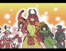 【戦国BASARA】たけだ大家族を描いてみた。【手書き】 thumbnail