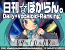 日刊VOCALOIDランキング 2009年10月8日 #606