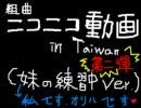 ニコニコin台湾  組曲『ニコニコ動画』 妹オリハver.