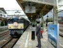 2009年10月24日セピア色の大糸線号 信濃大町駅出発