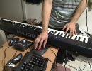 Bad Apple!!にピアノっぽい音を足してみた