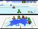 「[ゲーム]スーファミ初代「マリオカート」であえて最下位を狙う神プレイ。」 のサムネイル