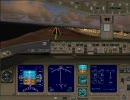 羽田空港16Lに着陸3(高画質版)