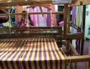 愛・地球博(愛知万博) スリランカ館の機織り