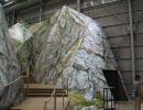愛・地球博(愛知万博) スイス館のアルプス山脈のミニチュア2