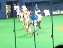 20070819 ドアラデー 試合開始前始球式
