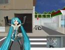 【MikuMikuDance】 スーパーゲキド街ステップ 【発熱ミク】 thumbnail