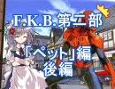 【MUGENストーリー】F.K.B.第二部 「ペット」編 後編