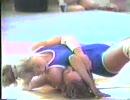 スウェーデンでの女子レスリング大会1