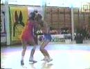 スウェーデンでの女子レスリング大会3