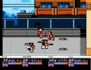 くにお動画 熱血格闘伝説 4人対戦