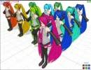 【MikuMikuDance】PMD色変え改造(JR東日本シリーズ)