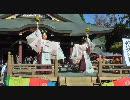 【ニコニコ動画】悠久の舞/二人舞@笠間稲荷神社舞楽祭を解析してみた