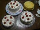 ☆スポンジとショートケーキ作ってみたbyシフォンの人☆