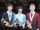 【ニコニコ動画】フィギュアスケート Grand Prix Final 2009 Jr男子表彰式を解析してみた