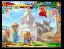 ZERO3 Xダル vs Zガイ