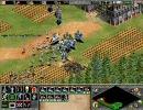 【AOE2,AOK】戦乙女を守りつつ実況プレイ第6-2回(パリの包囲戦)