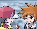 【初代ラストバトル】 レッド VS グリーン 【金銀レッド戦BGM】