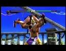 【ニコニコ動画】鉄拳6 キングによる女キャラへのマッスルバスター集