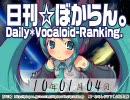 日刊VOCALOIDランキング 2010年1月4日 #694