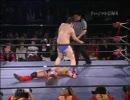 【ニコニコ動画】【DDT】 DDG 男色ディーノ vs CIMAを解析してみた