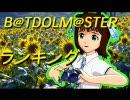 B@TDOLM@STER ランキング(修正版)
