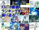 【祝#100】KAITO新曲ランキングを振り返る