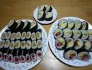 【けー】巻き寿司作りました【料理祭出品作】
