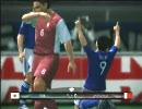 【ウイイレ2010】日本代表で5人選手指定でアジアカップ実況プレイ 2/3