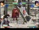 KOF2002 対戦動画 ヨツンへイム宮殿