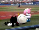 パオ・ドアラ 2007.8.5 横浜スタジアムにて 試合前編