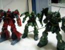 Gundam stop motion - endless battle