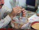 愛・地球博(愛知万博) ヨルダン館の砂絵製作(再送)1
