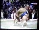 【相撲】小錦が舞の海にのしかかる
