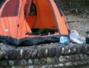 焚き火を楽しむ冬のソロキャンプツーリング