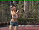 花井美理 テニスで乳揺れ