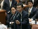 【ニコニコ動画】2010/2/12衆議院予算委員会 神・与謝野馨(自由民主党・改革クラブ)後編を解析してみた