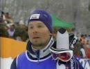 熱発中のヤンネ・ラハテラ(Janne Lahtela)の滑り