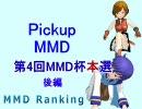 【MikuMikuDance】増刊Pickupランキング (第4回MMD杯本選・...